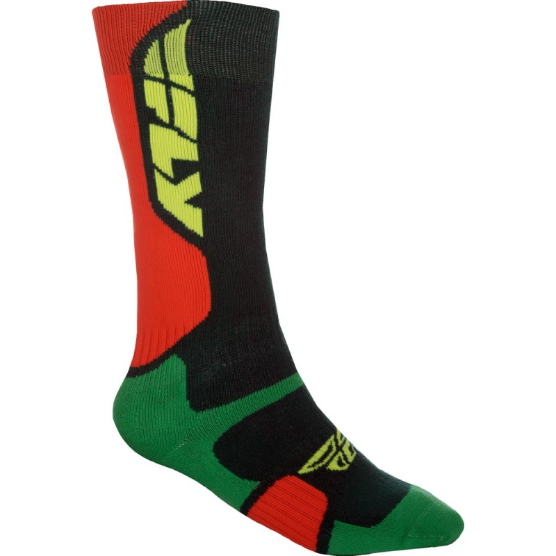 Fly Racing Socken dick MX Pro grün-orange