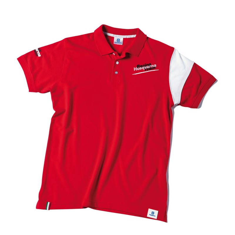 HUSQVARNA Poloshirt rot Racing Team