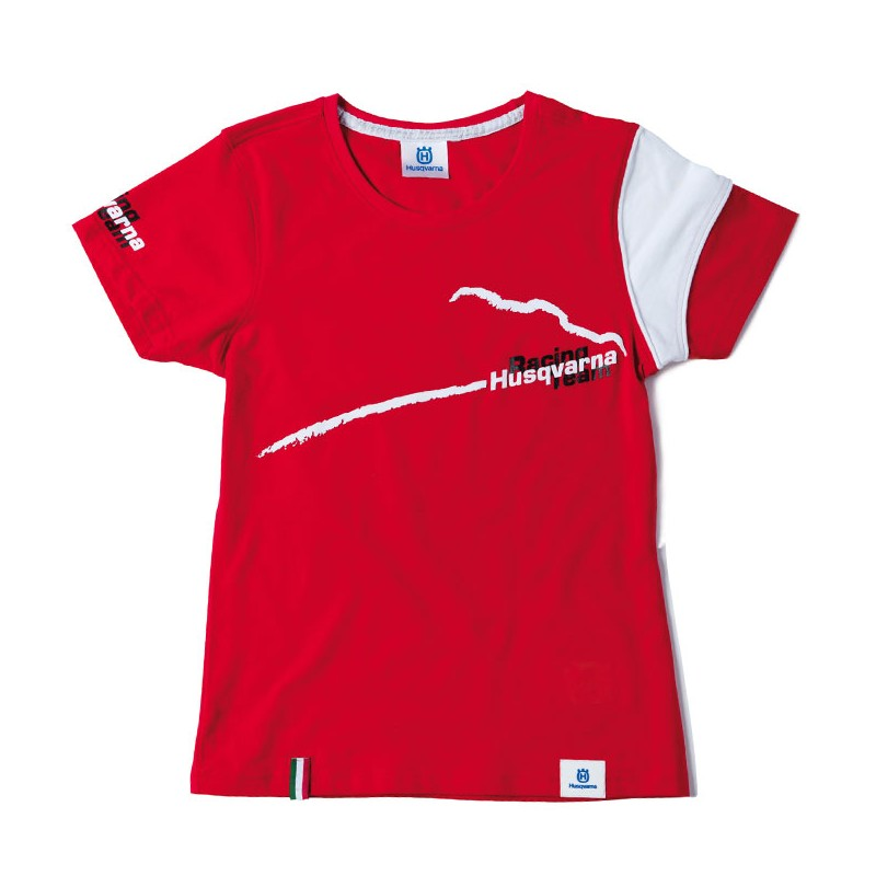 HUSQVARNA T-Shirt rot Girls Racing