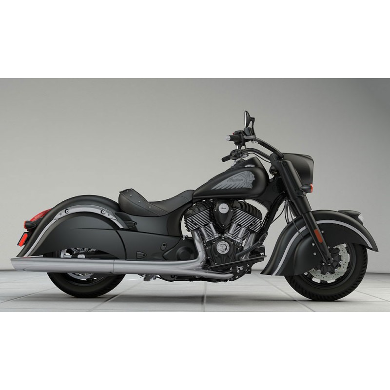 INDIAN Chief Darkhorse Thunder Black Smoke