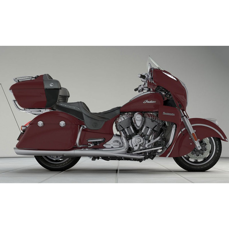 INDIAN Roadmaster Burgundy Metallic