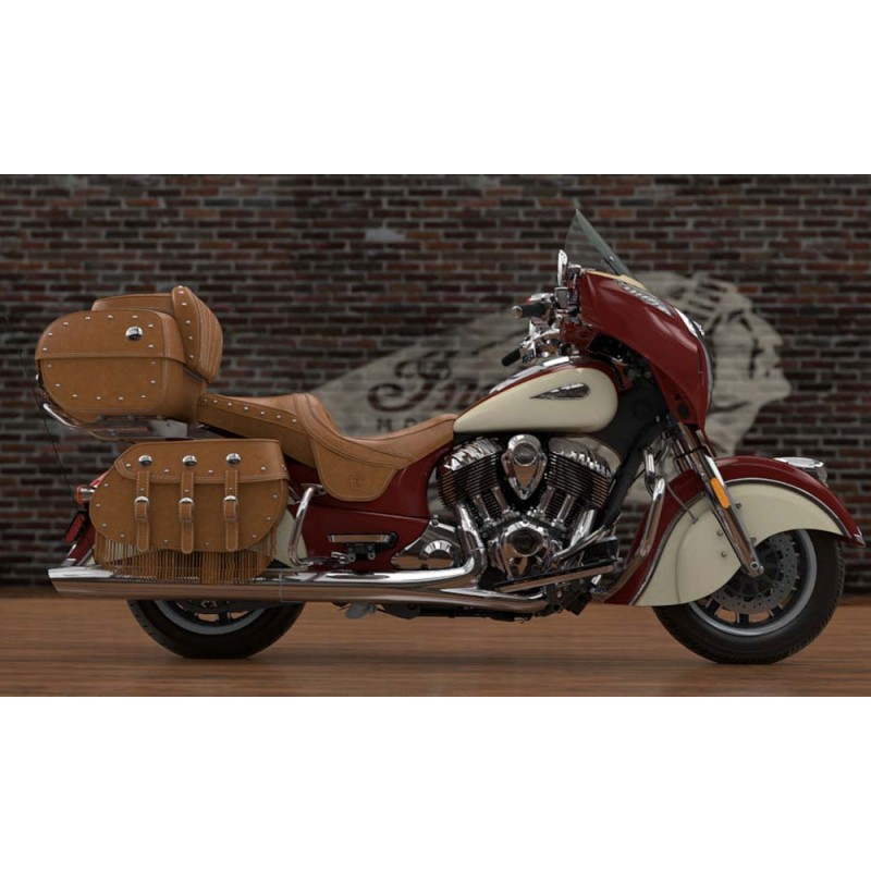 INDIAN Roadmaster Classic Indian Red/Ivory Cream