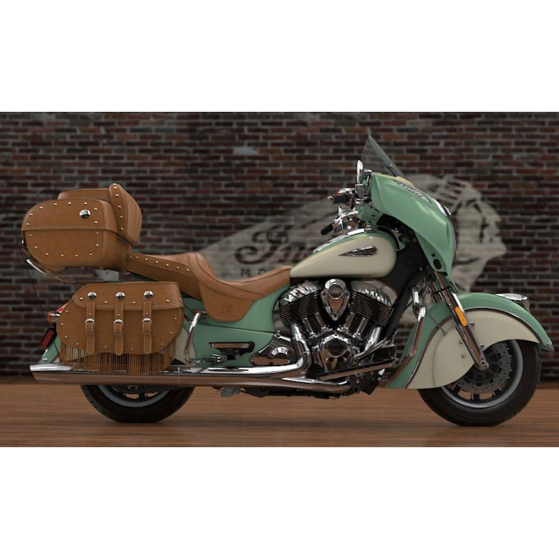 INDIAN Roadmaster Classic Willow Green/Ivory Cream