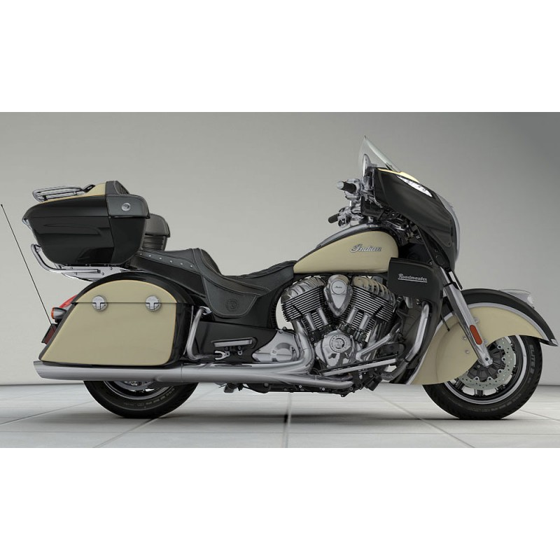 INDIAN Roadmaster Thunder Black/Ivory Cream