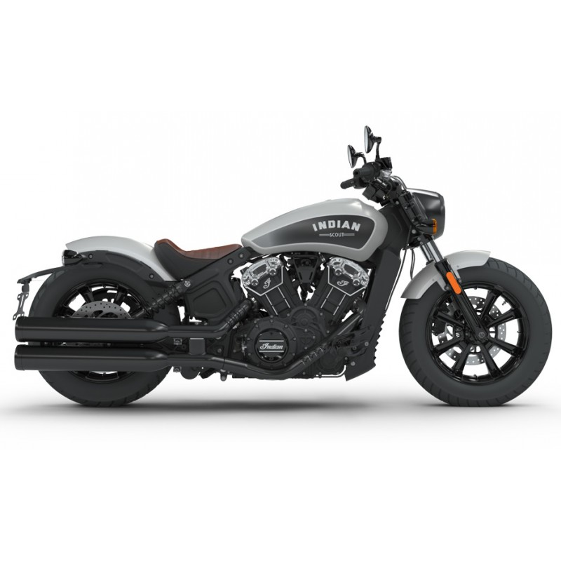 INDIAN Scout Bobber Star Silver Smoke