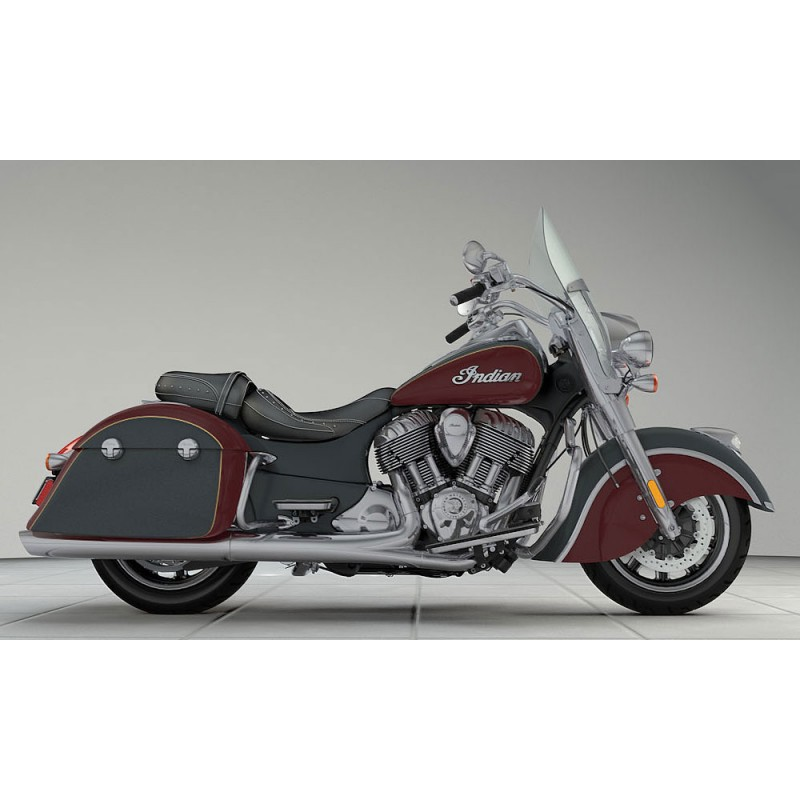 INDIAN Springfield Steel Gray/Burgundy Metallic