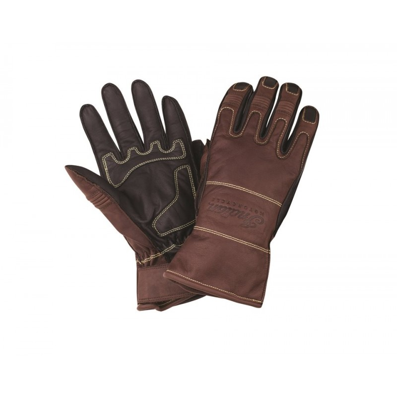 Indian Glove Two Tone braun-schwarz
