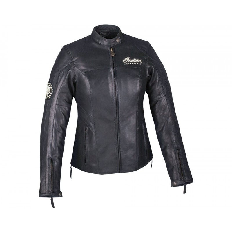 Indian Leder Jacke Effie Damen schwarz