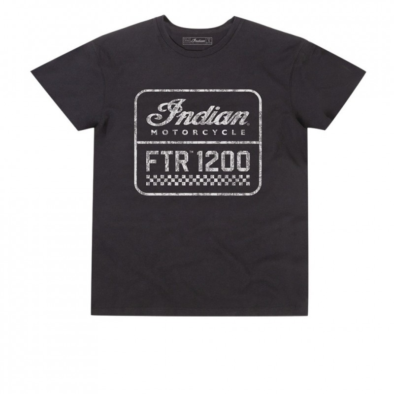 Indian Mens 1200 Logo Tee black
