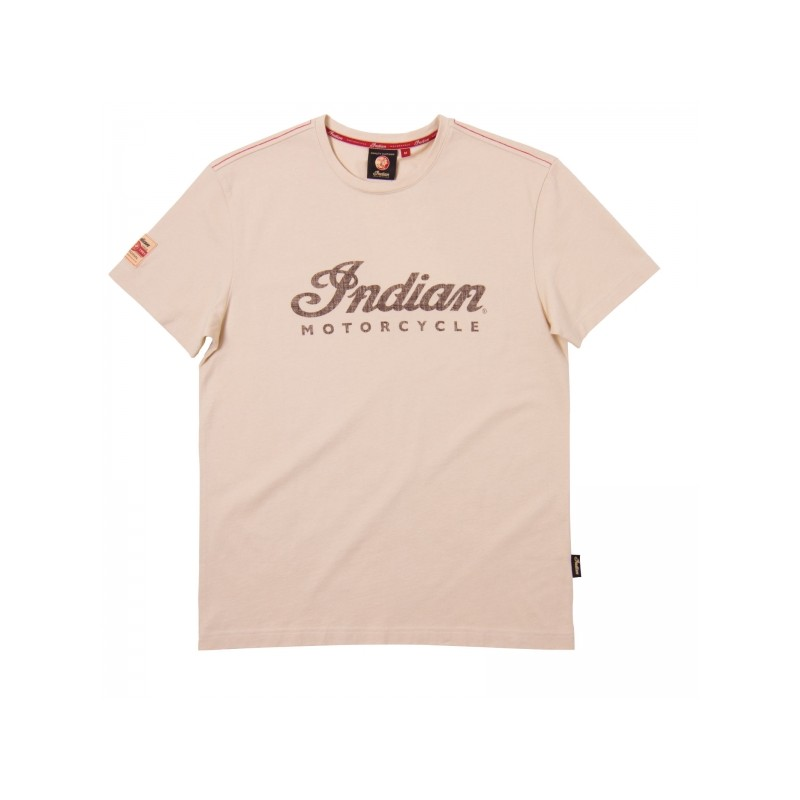 Indian Shirt Logo cream