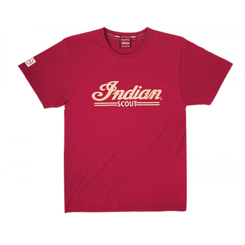 Indian T-Shirt Scout Logo rot