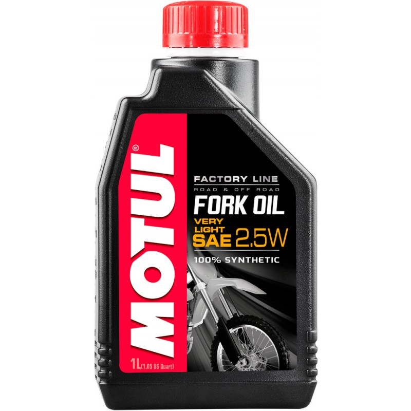 Motul Fork Oil FL Very Light 1 L Viskosität: 2,5W