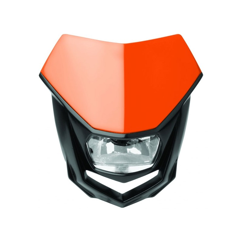 Polisport Scheinwerfermaske Halo orange