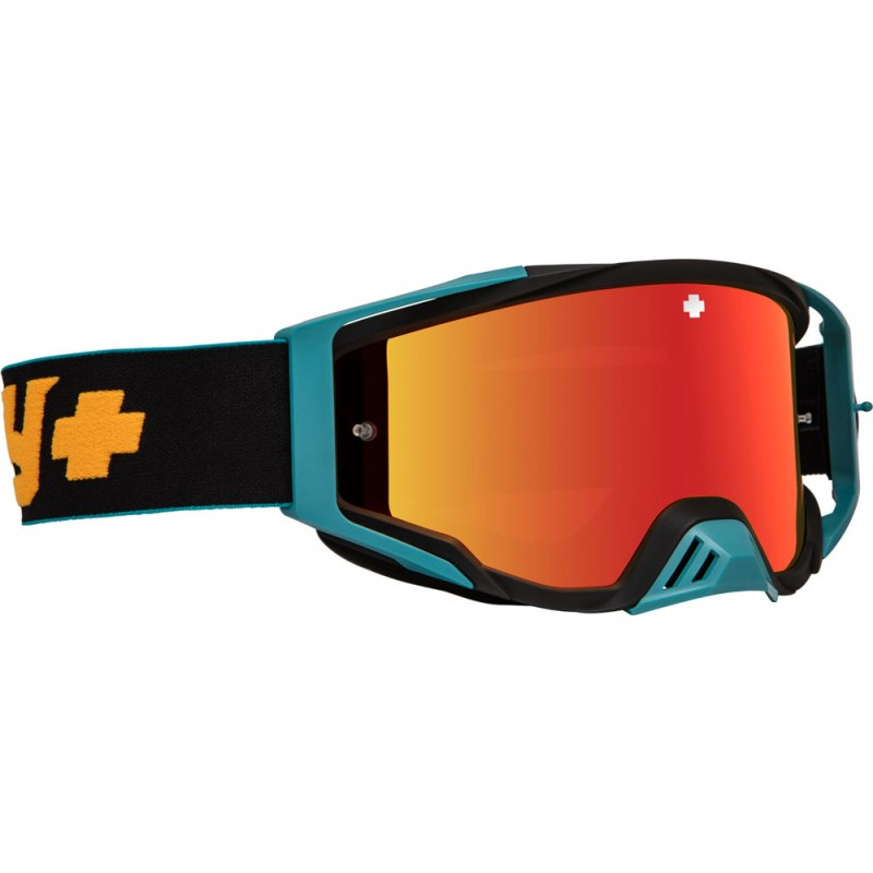 SPY OPTIC Brille Found.Plus Camo Orange HD smoke/rot spect