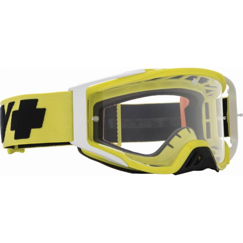 SPY OPTIC Brille Found.Plus Checkers hi-vis freen HD Clear