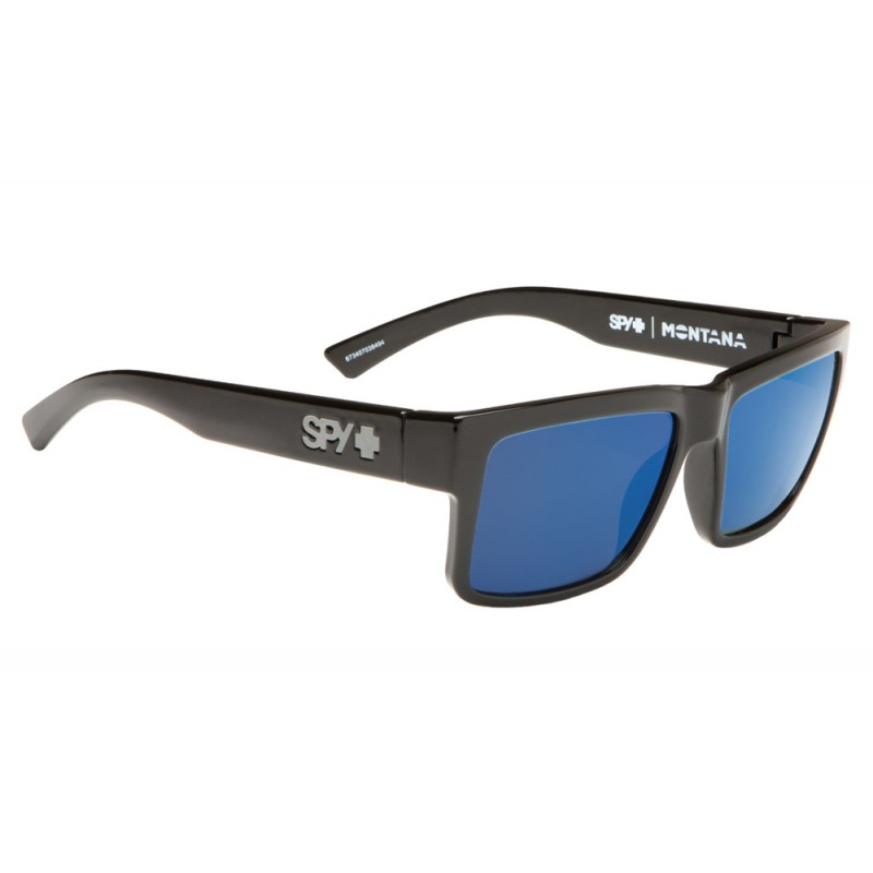 SPY OPTIC Montana black - Happy gray green Polarized dark bl