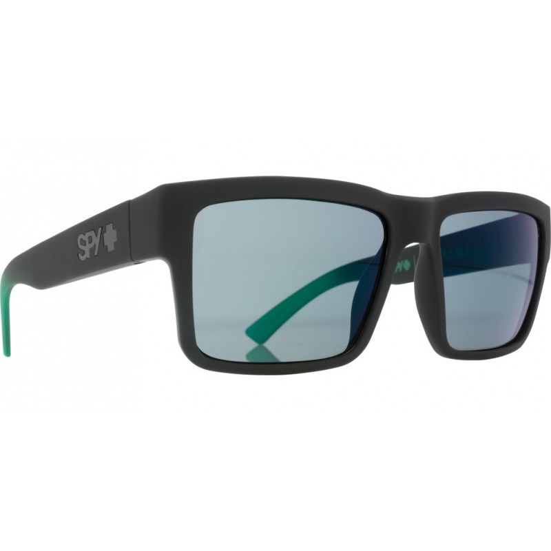 SPY OPTIC Sonnenbrille Montana Soft Matte Black/Greed Fade