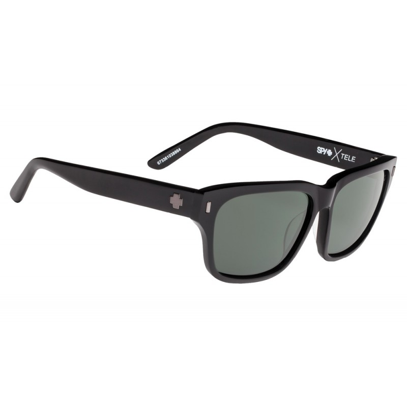 SPY OPTIC Tele Black - Happy Gray Green Polarized