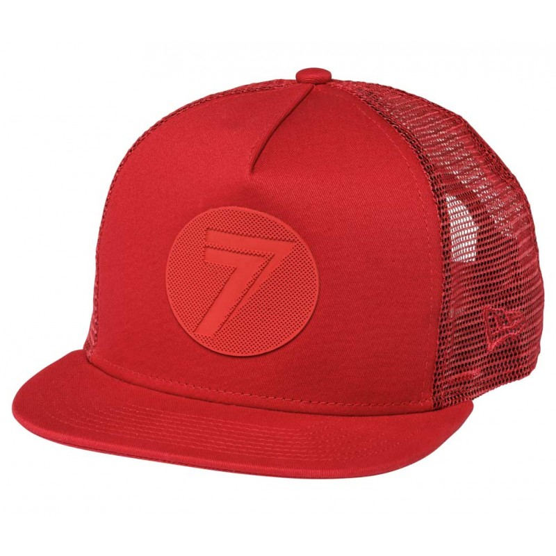 Seven Hat Youth Dot red