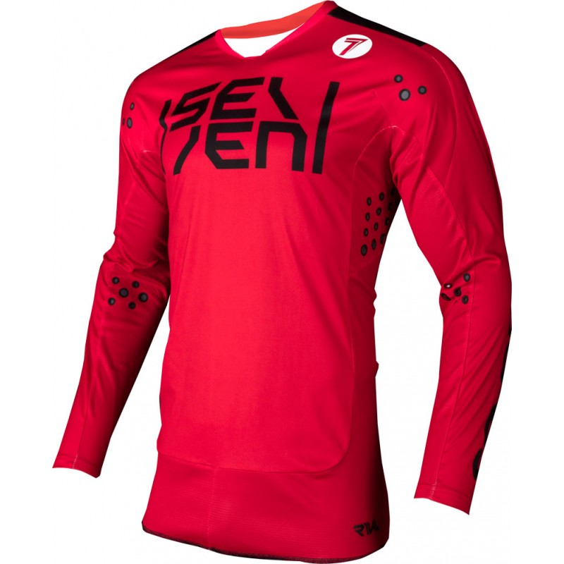 Seven Hemd Rival Biochemical red