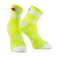 Compressport Racing Socks V2 fluorgelb