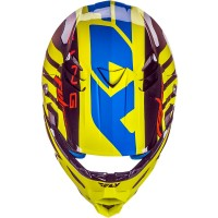 Fly Racing Helm F2 Carbon Replica Mips Weston Peick sw-gelb