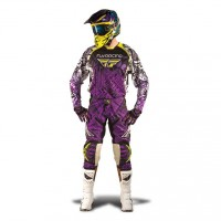Fly Racing Hose Evolution purple-schwarz