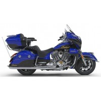INDIAN Roadmaster Elite Cobalt Candy over Black Crystal