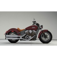 INDIAN Scout Burgundy metallic