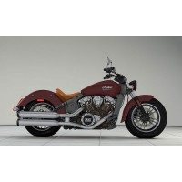 INDIAN Scout Indian Red