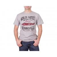 Indian T-Shirt Munro Worlds Fastest grau