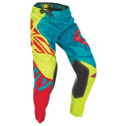 Fly Racing Evolution 2.0 Hose teal-hi-vis-rot