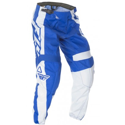 Fly Racing F-16 Hose Kids blau-weiß