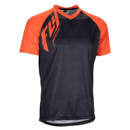Fly Racing Hemd Action MTB/BMX heather-orange