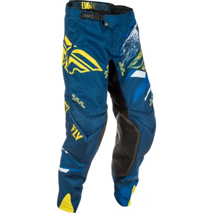 Fly Racing Hose Evolution 2.0 navy-gelb-weiß