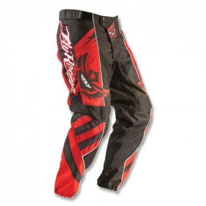Fly Racing Hose F16 rot-schwarz