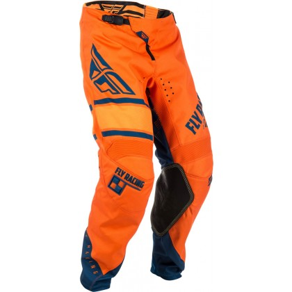 Fly Racing Hose Kinetic Era Kids orange-navy