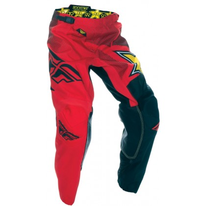 Fly Racing Kinetic Hose Rockstar rot-schwarz