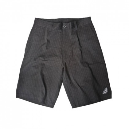 Fly Racing Short Pin-Stripe schwarz