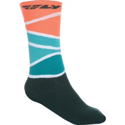Fly Racing Socken dick MX rot-blau-schwarz