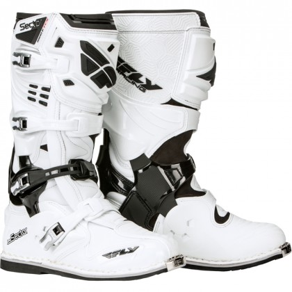 Fly Racing Stiefel Sector weiß