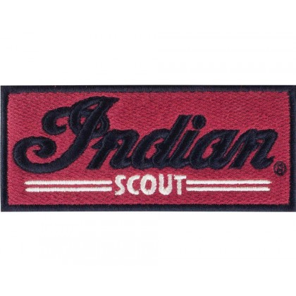 Indian Aufnäher Scout rot 12cm