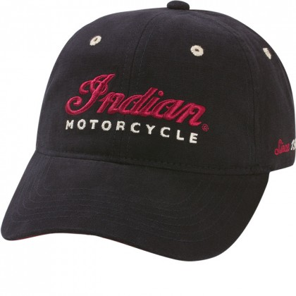 Indian Cap Logo schwarz