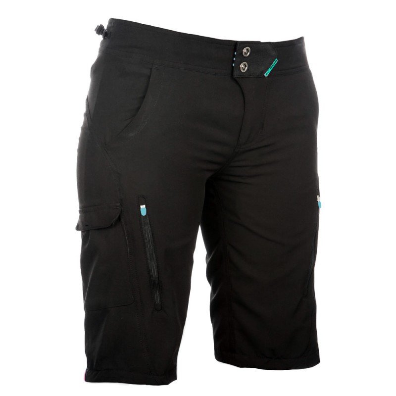 Fly Racing Short Girls Lilly black-turquoise