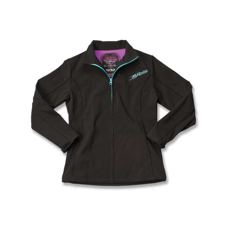 Fly Racing Jacket Grils Double Agent black