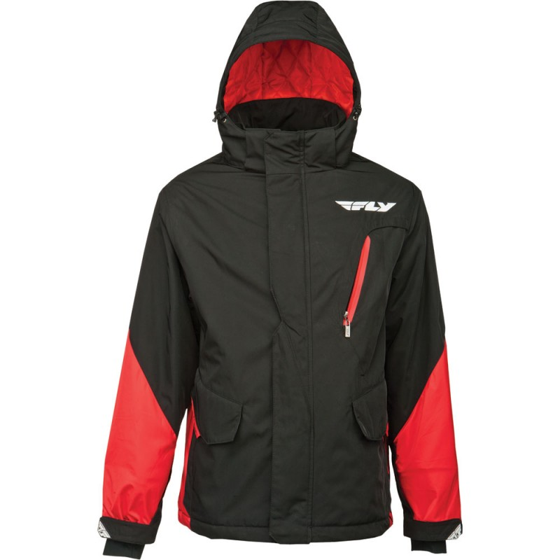 Fly Racing Jacket Factory red-black