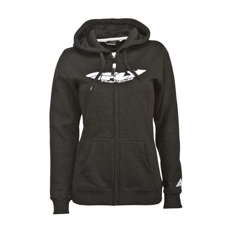 Fly Racing Hoodyjacket Girls Corp black