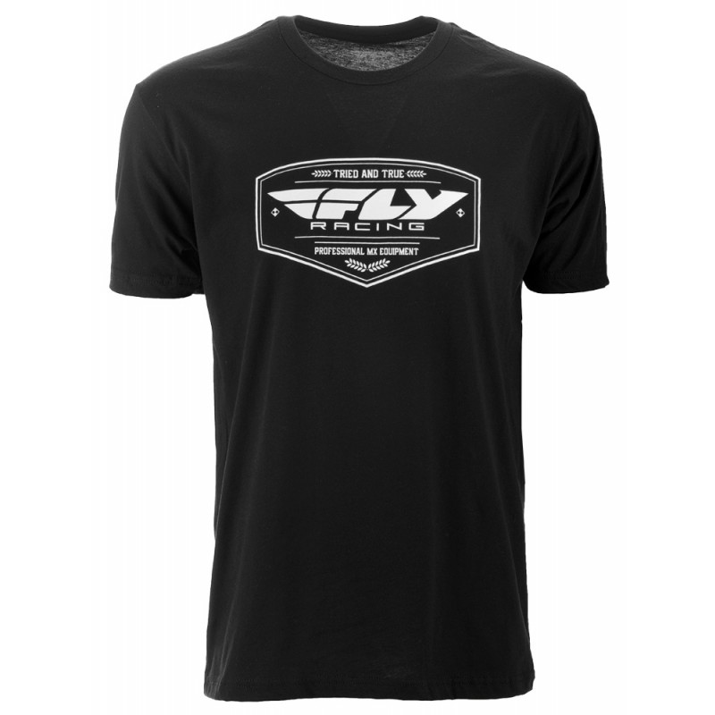 Fly Racing Shirt Pathfinder schwarz