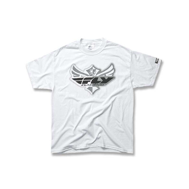 Fly Racing T-Shirt Kids The Logo white