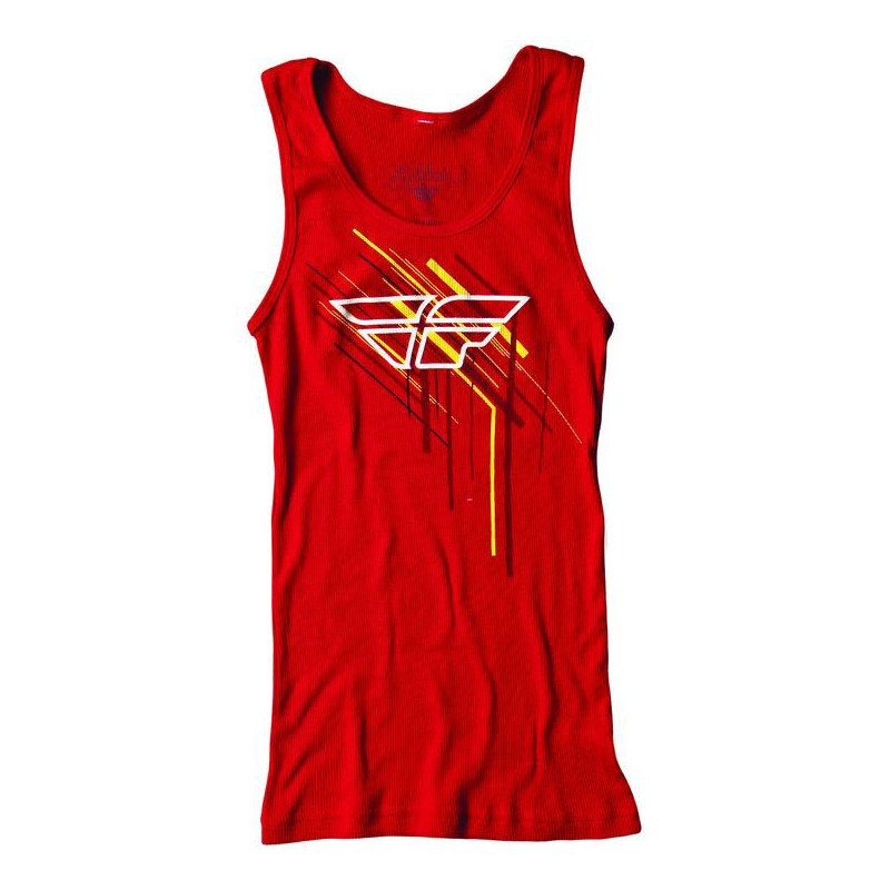Fly Racing Tanktop Girls Dash red